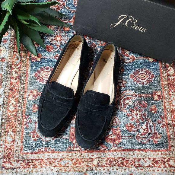 84e3dd638c5 ... Charlie Penny Loafers in Black Suede. J. Crew.  M 5cafa6017f617f77c1171e99. M 5cafa601b3e917a054d52564.  M 5cafa600c953d8f9d29478b4